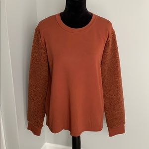 NWT Kenneth Cole long sleeve sweatshirt